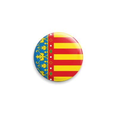 Значок 25мм Флаг Валенсии