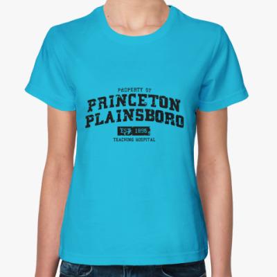 Женская футболка Princeton Plainsboro