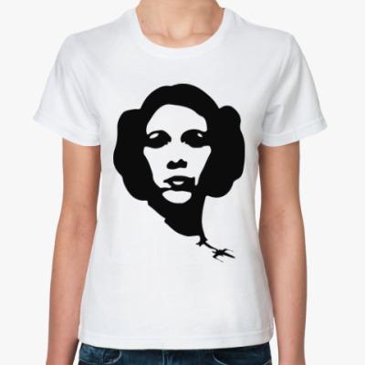 Классическая футболка Принцесса Лея (Звездные Войны)