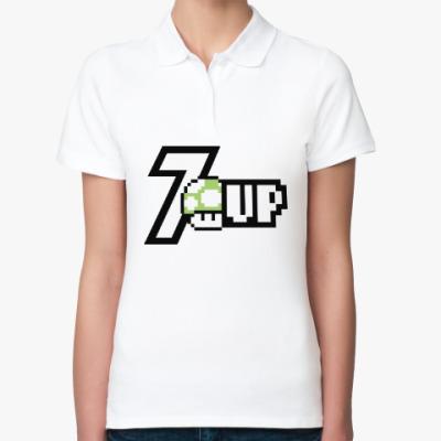 Женская рубашка поло Super Mario Mushroom