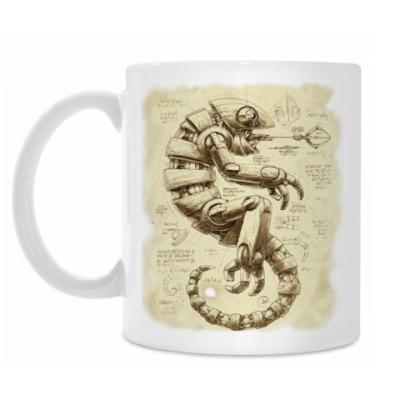 Кружка Стимпанк-хамелеон