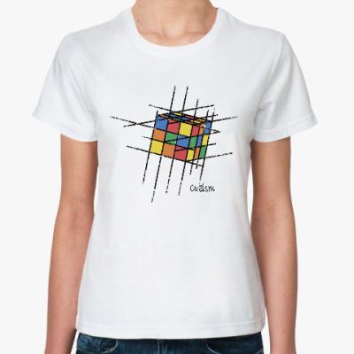 Классическая футболка Кубик Рубика | Rubiks Cube