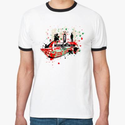 Футболка Ringer-T skate
