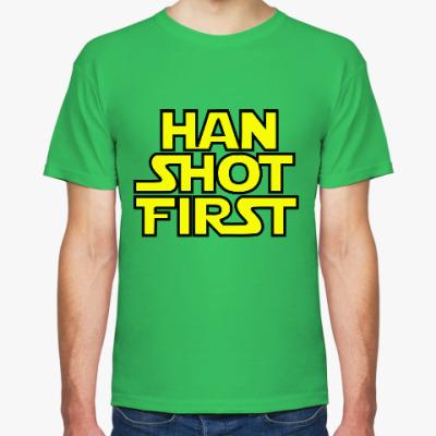 Футболка Хан Соло (Звёздные войны)