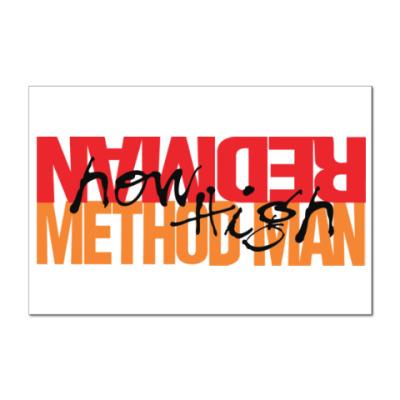 Наклейка (стикер) Method Man & Redman