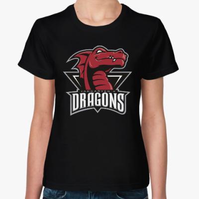 Женская футболка Драконы Таргариен
