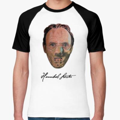 Футболка реглан Hannibal Lecter