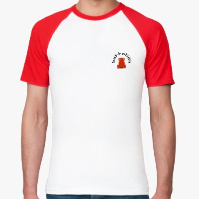Футболка реглан  Battalion (мини-лого)