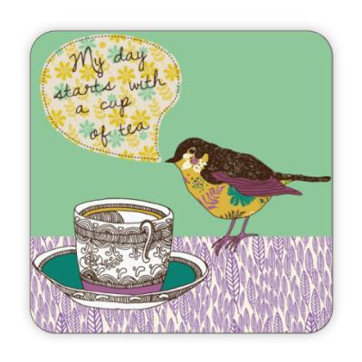 Костер (подставка под кружку) Tea
