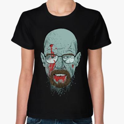 Женская футболка Хайзенберг Зомби