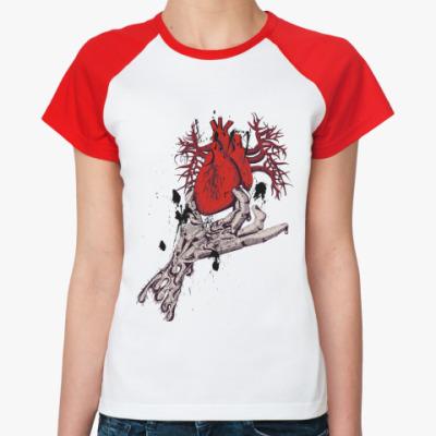 Женская футболка реглан ZombieHeart