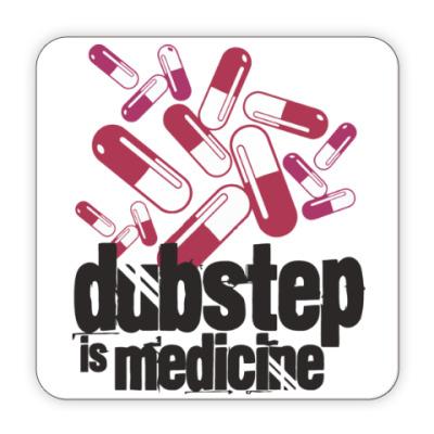 Костер (подставка под кружку) Дабстеп медицина