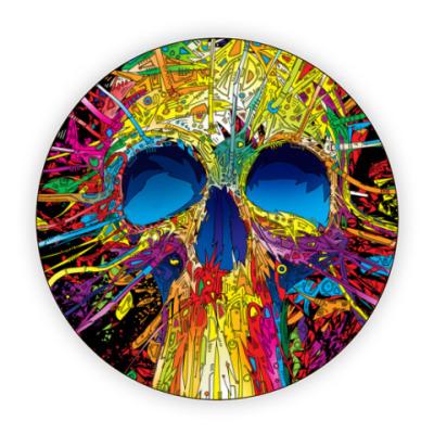Костер (подставка под кружку) Skull