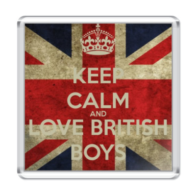 Магнит Love British Boys