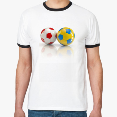 Футболка Ringer-T Мы победим!