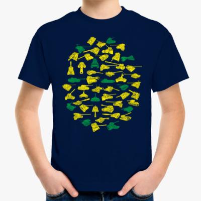 Детская футболка 52 танка из World of Tanks