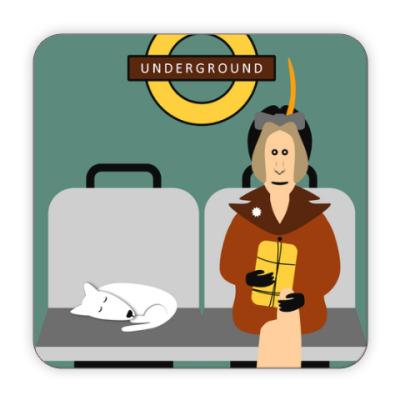 Костер (подставка под кружку) Underground