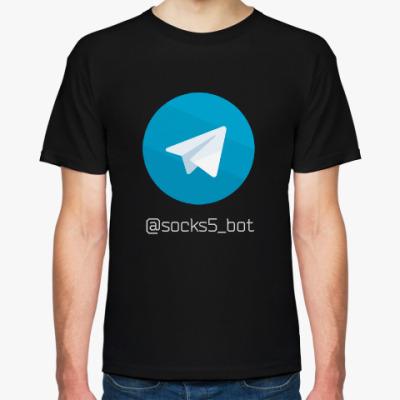 Футболка Telegram прокси
