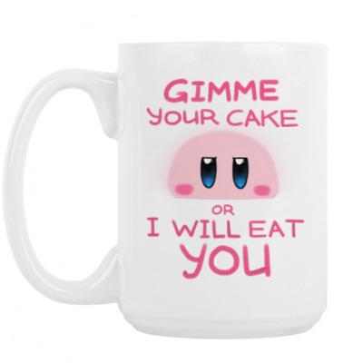 Кружка Kirby: Cake or Life