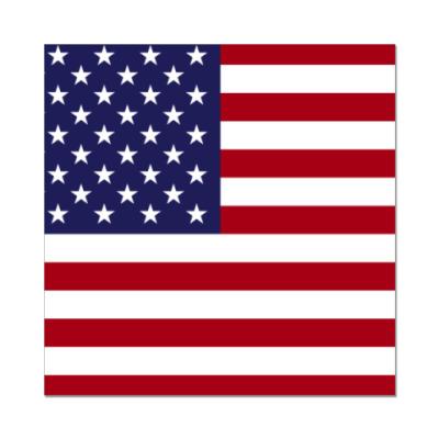 Наклейка (стикер)  США, USA, Америка