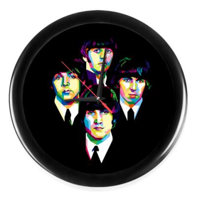 Настенные часы The Beatles