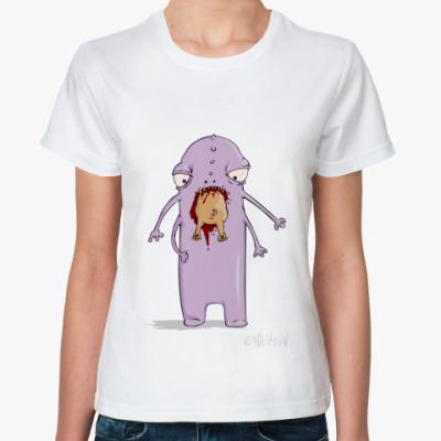 Классическая футболка пожиратель собак