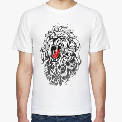 Футболка Стилизованный Лев (lion)