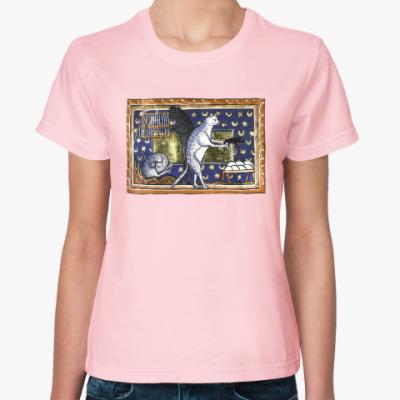 Женская футболка Котовая жизнь