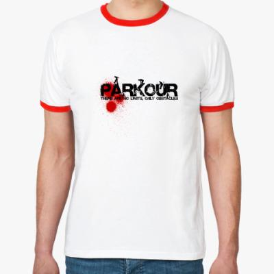 Футболка Ringer-T PARKOUR