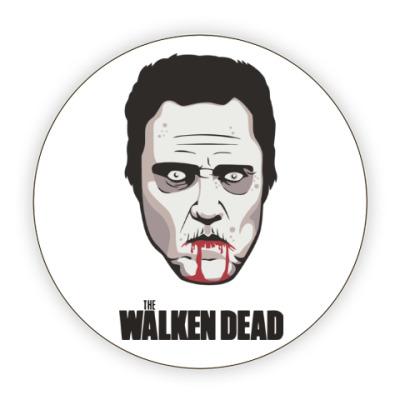 Костер (подставка под кружку) Walken Dead