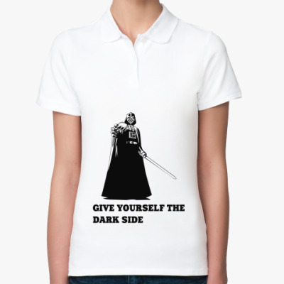 Женская рубашка поло  Dark Side