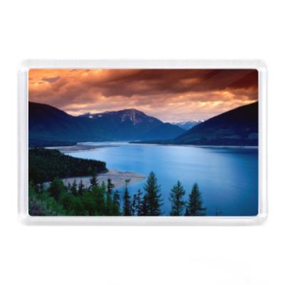Магнит Озеро, горы
