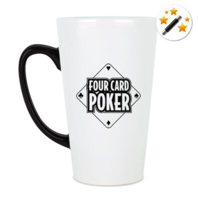 Кружка-хамелеон Four Card Poker