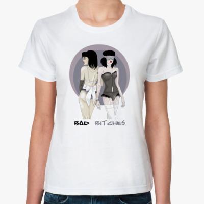 Классическая футболка Плохие Девочки