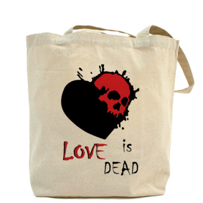 Сумка Love is dead