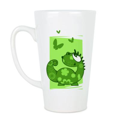 Чашка Латте дракон-лето