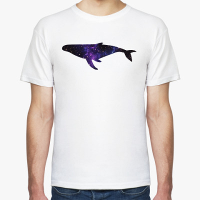 Футболка Космический кит