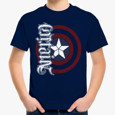 Детская футболка Первый мститель:Противостояние