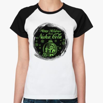 Женская футболка реглан Fallout