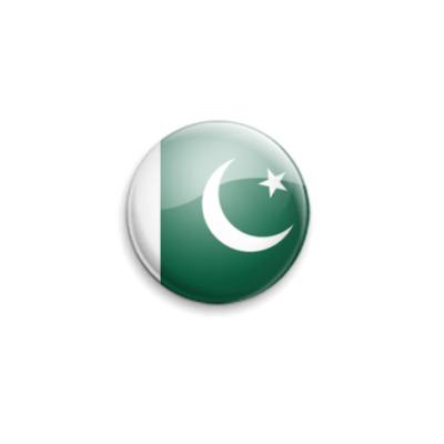 Значок 25мм Pakistan