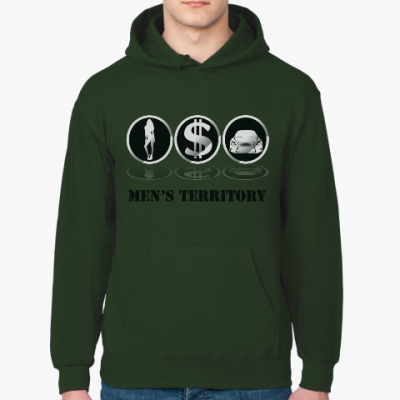 Толстовка худи Men's territory