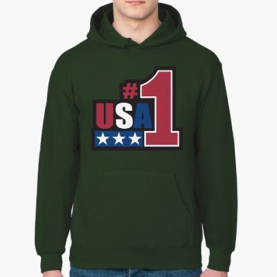 Толстовка худи USA 1