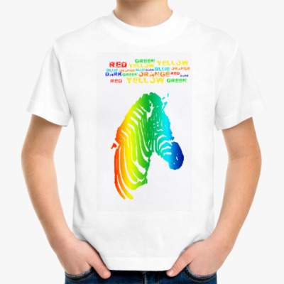 Детская футболка Colour dreams