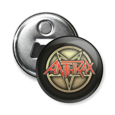 Магнит-открывашка Anthrax