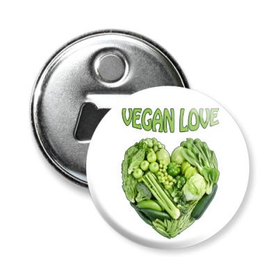 Магнит-открывашка Вегетарианцы рулят!