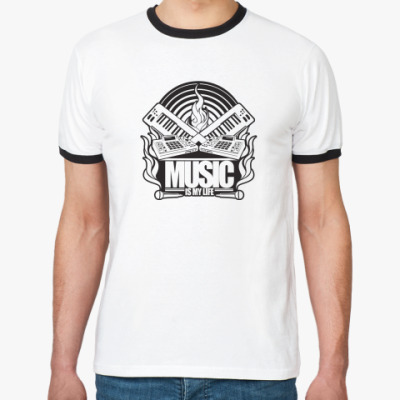 Футболка Ringer-T  футболка ST1M
