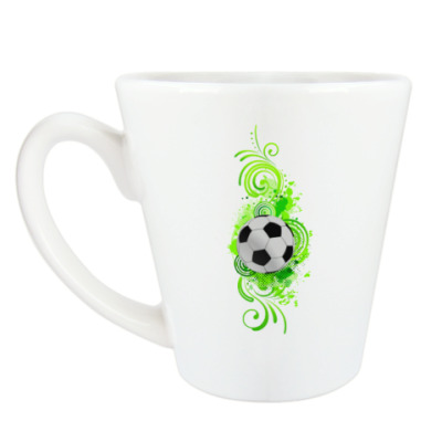 Чашка Латте Футбольный мяч