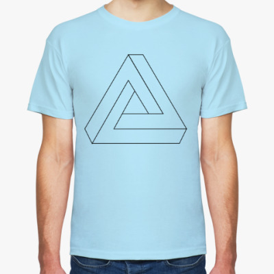 Футболка Невозможный треугольник
