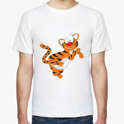 Футболка Funny tiger