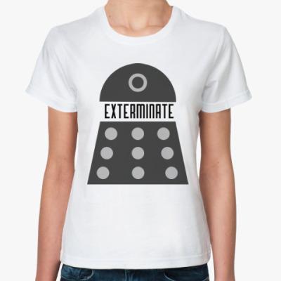 Классическая футболка Далек